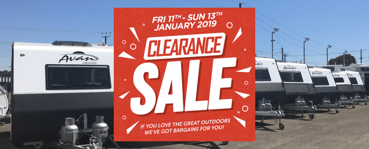 Caravan & Camping Clearance Sale