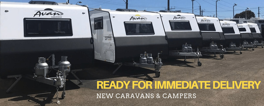 New Caravans Ready For Immediate Delivery