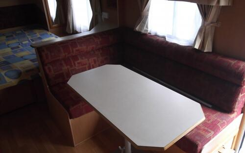 2003 Windsor Poptop Caravan table