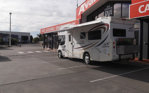 Jayco Conquest Motorhome awning
