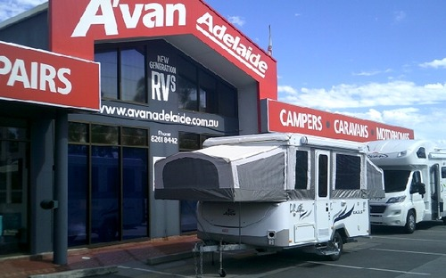 2011 Jayco Wind up Camper  open