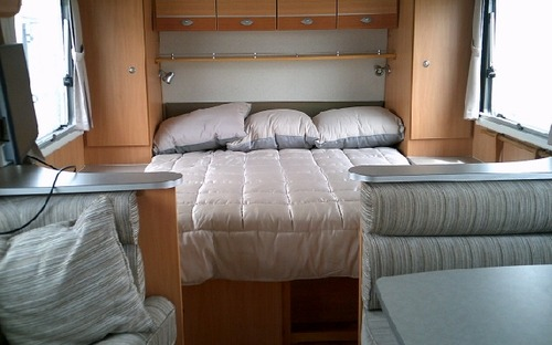 2013 Avan Aspire 525 Pop Top Caravan Interior