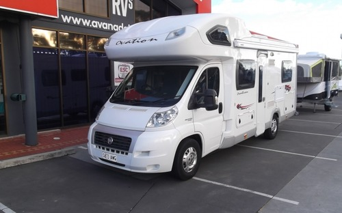 Front view of 2013 Avan Ovation M3 Motorhome