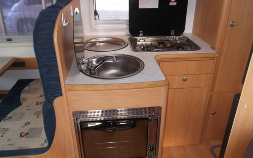 2013 Avan Ovation M3 Motorhome Kitchen