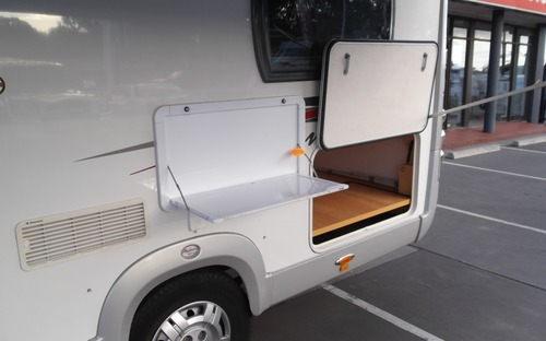 2013 Avan Ovation M3 Motorhome boot
