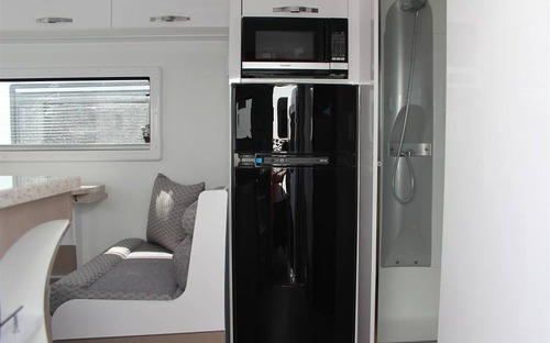 Avan Aspire 587-1 Tandem Caravan fridge