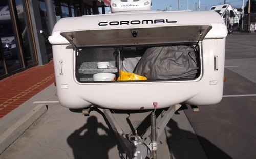 Coromal Wind up Camper boot