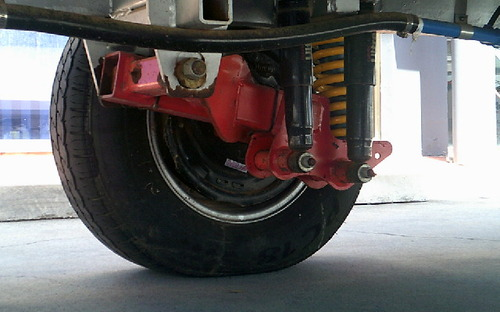 2013 Sportcruiser off road caravan suspension
