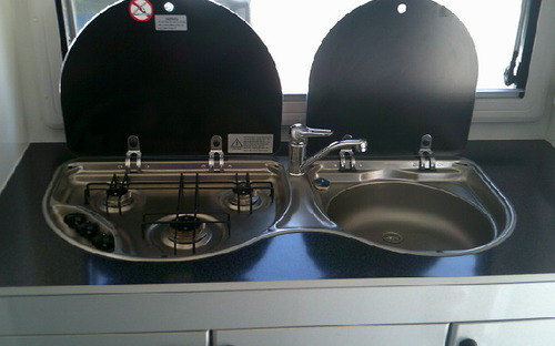 2013 Sportcruiser off road caravan kitchen