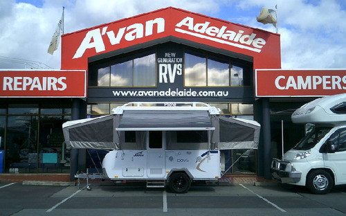 2016 Jayco Dove Wind Up Camper