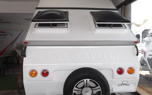 Back of Avan Cruiseliner 5 Camper