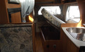 Underbed storage for the Jayco Conquest Motorhome