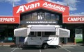 2011 Jayco Wind up Camper awning