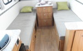 Avan Cruiseliner 5 Camper Single Bed Layout